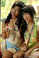Thai Teen Lesbians Gibzy And Piano