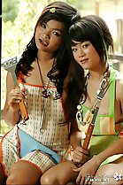 thai teen lesbians gibzy and piano