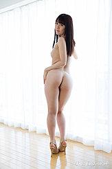Hand On Hip Nice Ass Long Hair Down Her Back High Heels