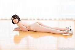 Sawamoto Yukie Lying On Her Front Nude Short Hair Nice Ass In High Heels